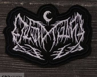 Patch Leviathan Black Metal Ambient Band.