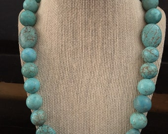SALE Chunky Magnesite Necklace