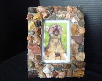 4 x 6 Unique Colorado Rock Picture Frame