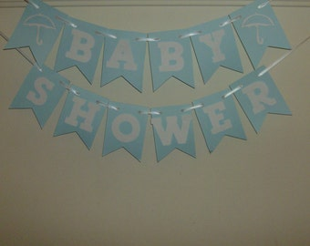 Baby Shower Banner, Baby Shower, Baby, Newborn, Congrats, Welcome Baby, Baby Announcement, Baby Boy.