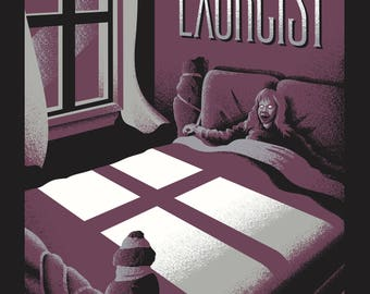 THE EXORCIST Screen Printed Poster
