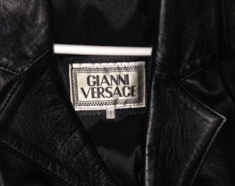 Genuine soft Black Leather Jacket