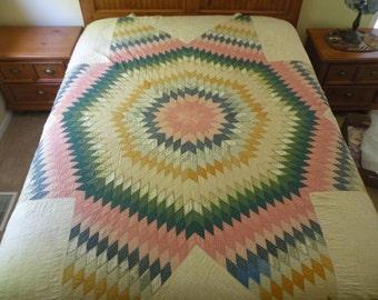 Antique Hand Made Quilt
