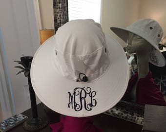 SALE! monogrammed fishing hat by Page and Tuttle