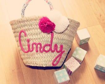 My Lil primping basket personalized / custom basketball Beach