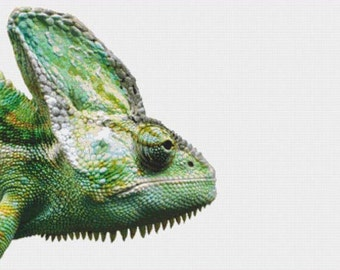Chameleon PDF Cross Stitch Pattern