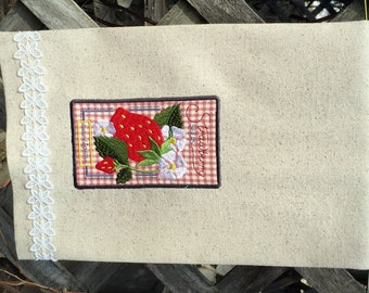 Kitchen Towel - Seed Packet Strawberry