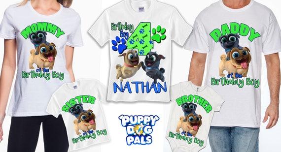 Puppy dog pals birthday shirt, puppy dog pals shirt, puppy dog pals birthday, disney birthday, puppy birthday, bingo shirt, rolly shirt