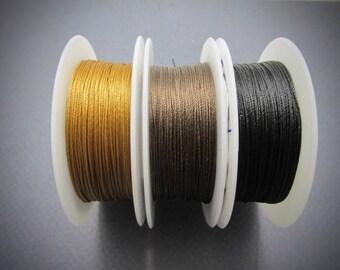SALE TuffCord #2, TuffCord, Tuff Cord, choose color, Twisted Cord, Stiff Nylon cord, Wrap Bracelet Cord, macrame cord,  zero, TuffCord #2