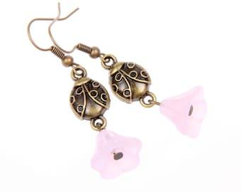 Ladybug Earrings, ladybug Jewelry