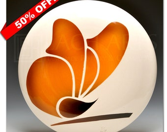 50% OFF - Standing Monarch (Wall Button)
