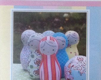 "Sew Little ""Bowling Buddies"" Infant & Children's Soft Toy Pattern"