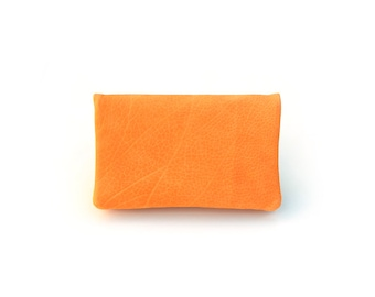 Tobacco pouch made of nubuck leather