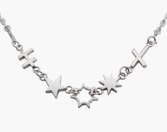 Bang Silver Necklace 02