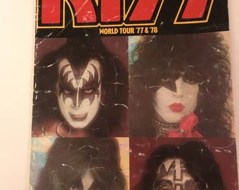 KISS 1977-78 Love Gun Tour book