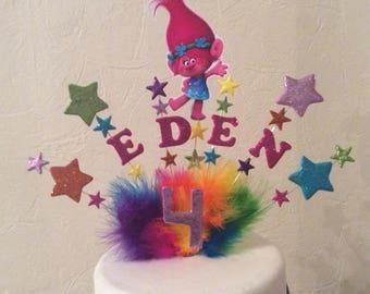 princess Poppy troll cake topper / centre piece