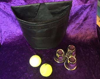 Traditional magicians busking pouch / gibicere