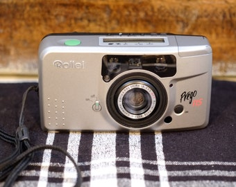 Rollei Prego 115 compact camera | Vintage Camera | 35mm camera | Film Tested