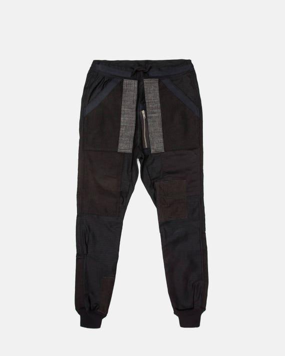 Black on black jogger pant