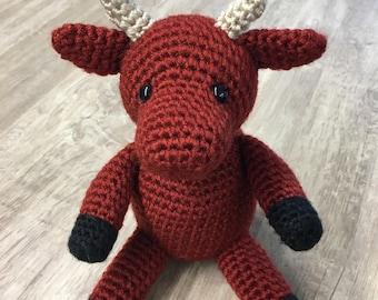 PATTERN Crochet Zodiac Ox Amigurumi