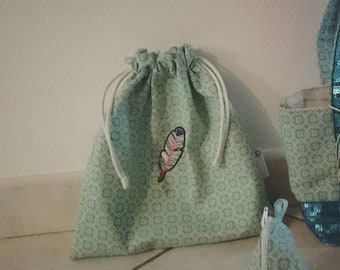 Pouch with DrawString
