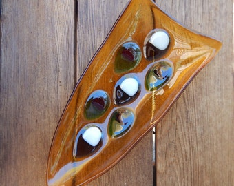 Fused Glass Dish, Olives, Appetizers