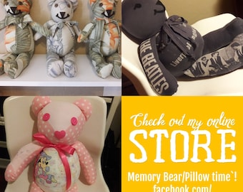 Memory Bears. Memory Lions. Memory Pillows and More
