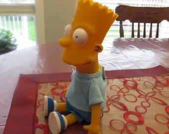 Vintage Bart Simpson Doll 1990