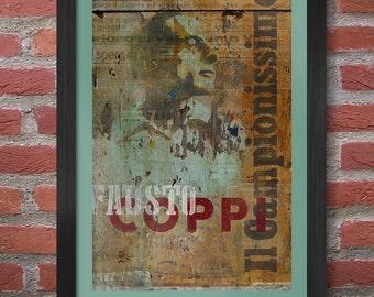 Fausto Coppi Poster Print