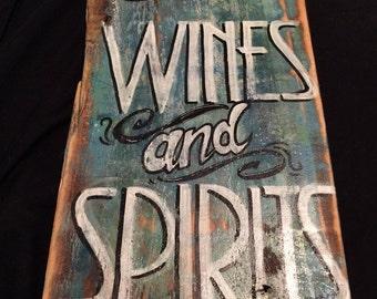 Board wine and spirits