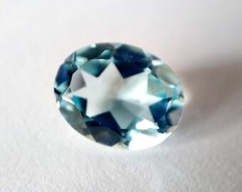 4.08 Ct Natural Brazil Blue TOPAZ  Gemstone