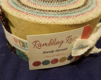 Rambling Rose jelly roll