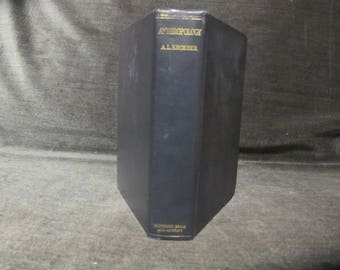 Anthropology  By A. L. Kroeber  Pub:Harcourt Brace and Co.  New York (1923) ILLUSTRATED