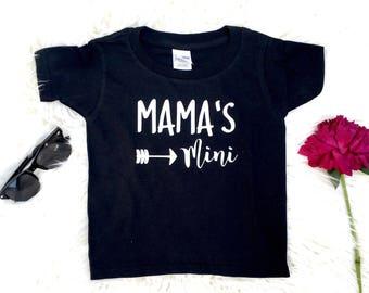 Baby Girl Mini Mama, Mama's Mini, Mommy's Bestie Mommy's Lil Bestie, I Love Mommy, Mommy's Best Friend Mommy and Me Newborn Baby Shower Gift