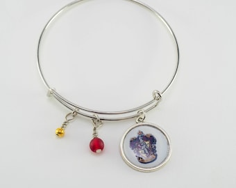 Gryffindor Harry Potter Bangle Bracelet