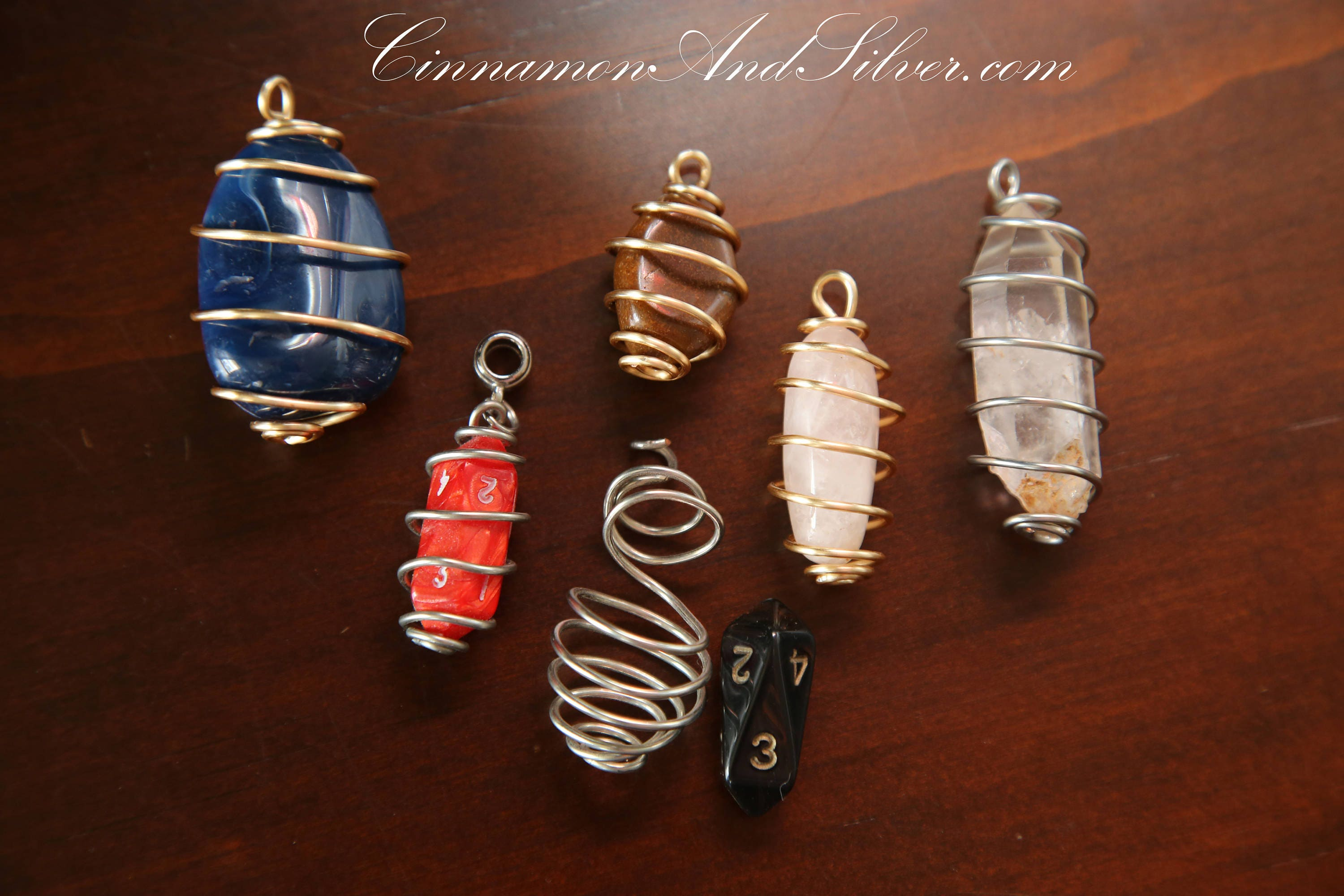 Unisex wire wrapped crystals crystal wire wrapped cages caged unisex wire wrapped crystals crystal wire wrapped cages caged crystal pendants crystal charm crystal keychain caged crystals aloadofball Gallery