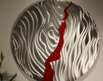 Wilmos Kovacs Contemporary Metal Wall Decor Metal Wall Art Sculpture  - W44