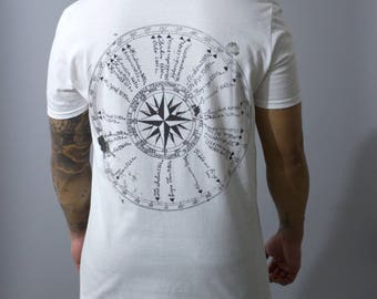 FABLE & KING 'Compass' Tee