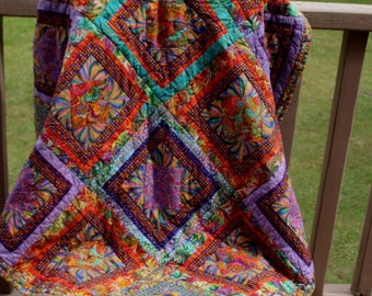 Quilt Psychedelic Swirl
