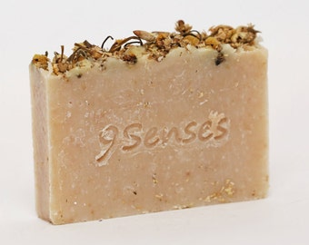 Chamomile Cold Process Soap - Face & Body, 100% Natural
