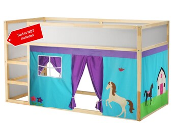 Horse theme bed tent