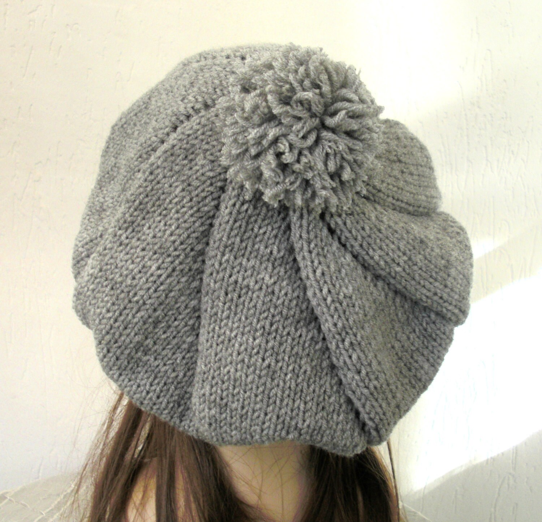 Knit Hat Pattern - Digital sombrero tejer patrón PDF - Outlander ...