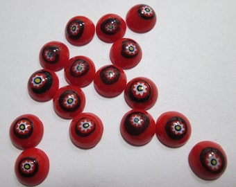 Mix and Match 15 Vintage Murano Glass Cabochons