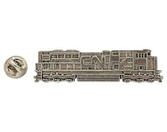 CN Locomotive ~ Lapel Pin/Brooch ~ A246