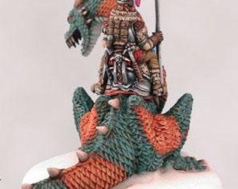 Parkinson Masterworks: Northwatch Dragon & Rider (Dragon Set #1) - 2501 - Dark Sword Miniatures