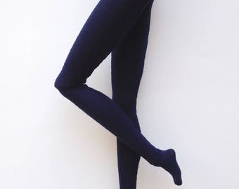 Navy blue pantyhose for Poppy / Model Muse, Made to Move or Pivotal Barbie