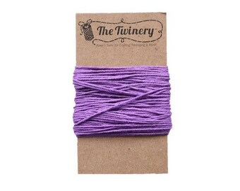 Purple Bakers Twine - Solid Lilac - 15 Yard Bundle