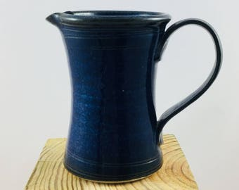Hand-thrown Small Jug from our 'Deep Waters' range.