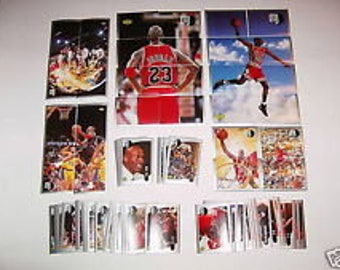 1998 Michael Jordan MJ Complete Stickers Set - All 138 MJ Stickers by Upper Deck - Mint Condition!
