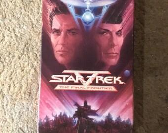 Star Trek The Final Frontier VHS 1996